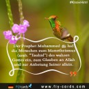 Prophet Muhammad invited people to the Oneness (TAWHEED) of the true God, to believe in Allah and worship Him ALONE.