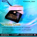 The Glorious Qur'an is the final revelation of the one true God (Allah), revealed to Prophet Mohammed.