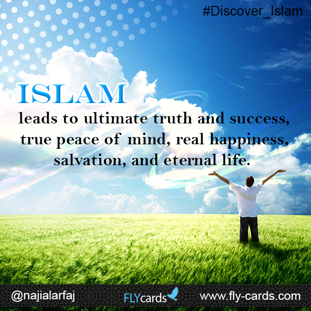 slam leads to the ultimate truth and success, true peace of mind, real happiness, salvation, and eternal life.