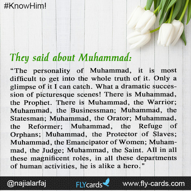 """Ramakrishna Rao, an Indian Professor of Philosophy, in his booklet, Muhammad: The Prophet of Islam, calls Muhammad the """"perfect model for human"""
