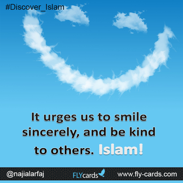 It commands us to respect others and to deal with them gently (in good manners and high values). Islam!