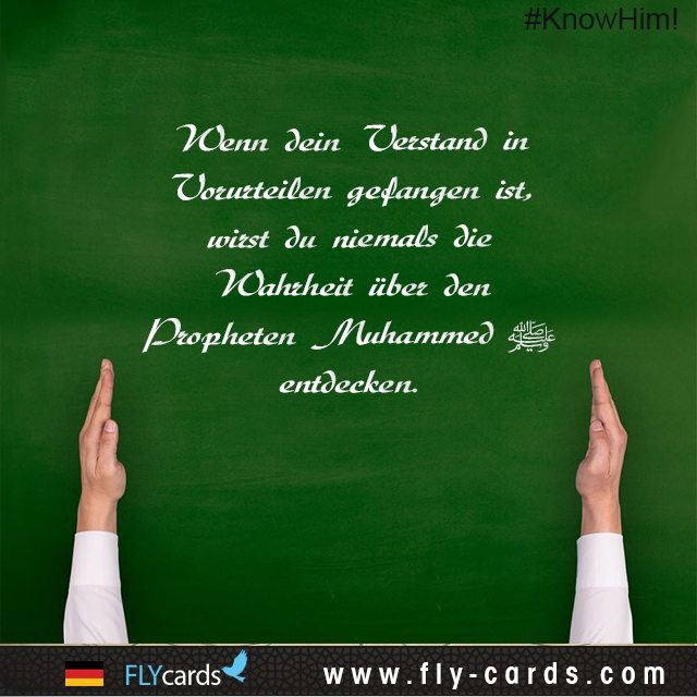 If your mind is captive to prejudice and prejudgment, you will never discover the truth about Prophet Muhammad.